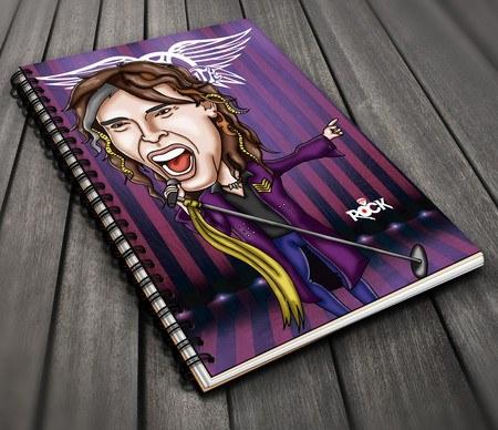 Aerosmith - Caderno Exclusivo