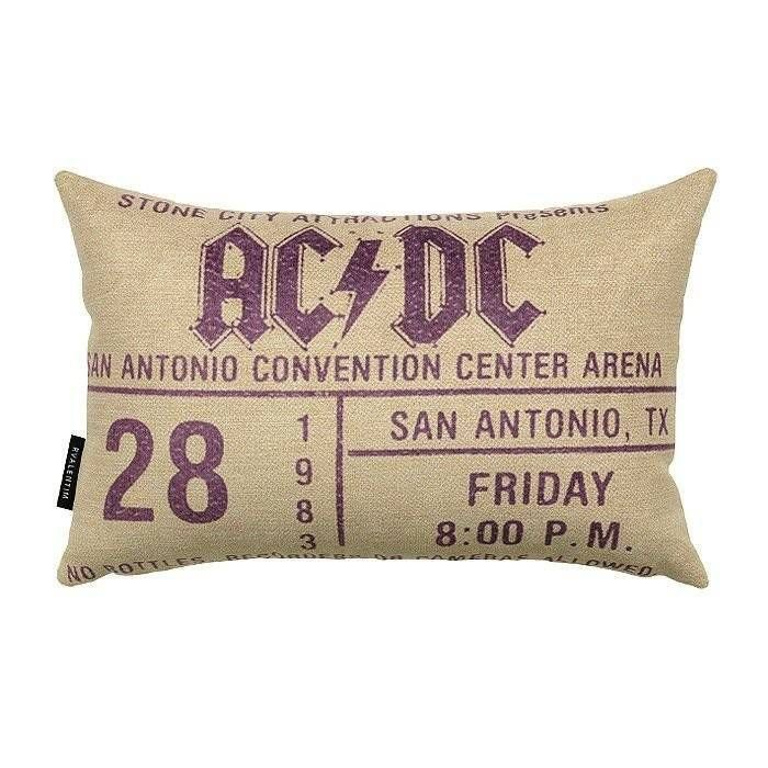 Almofada 30 AC/DC Purple – Rvalentim