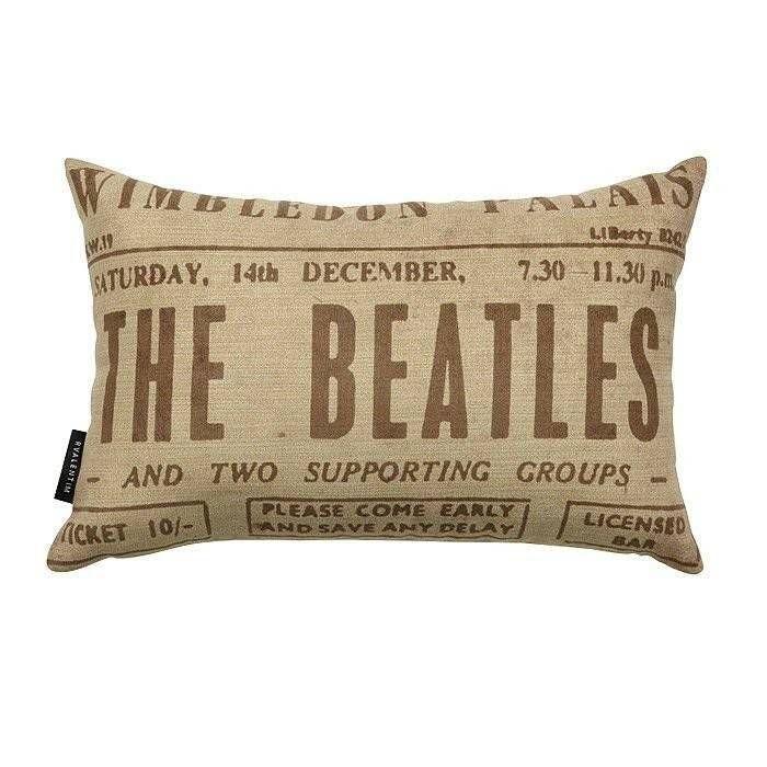 Almofada 30 Beatles White – Rvalentim