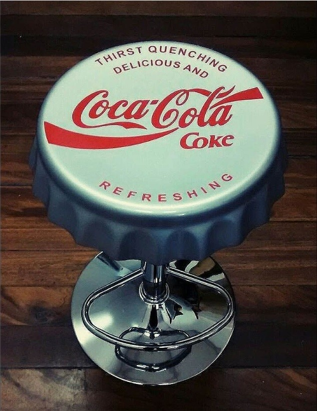 Banqueta Vintage Coke