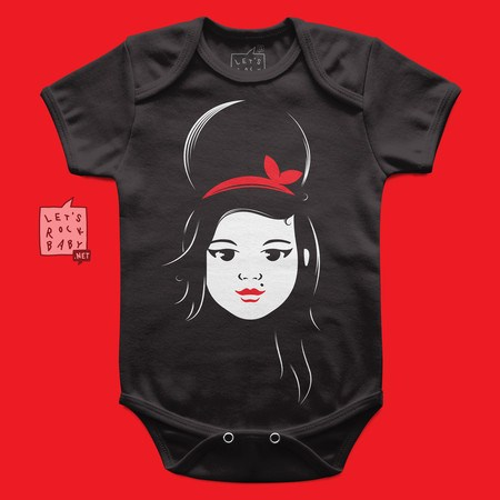 Body Infantil Amy Winehouse Baby