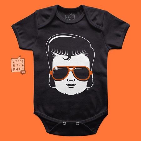 Body Infantil Let's Rock Baby Baby Elvis