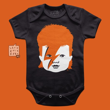 Body Infantil David Bowie Baby