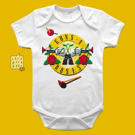 Body Infantil Guns 'n' Roses Arminha