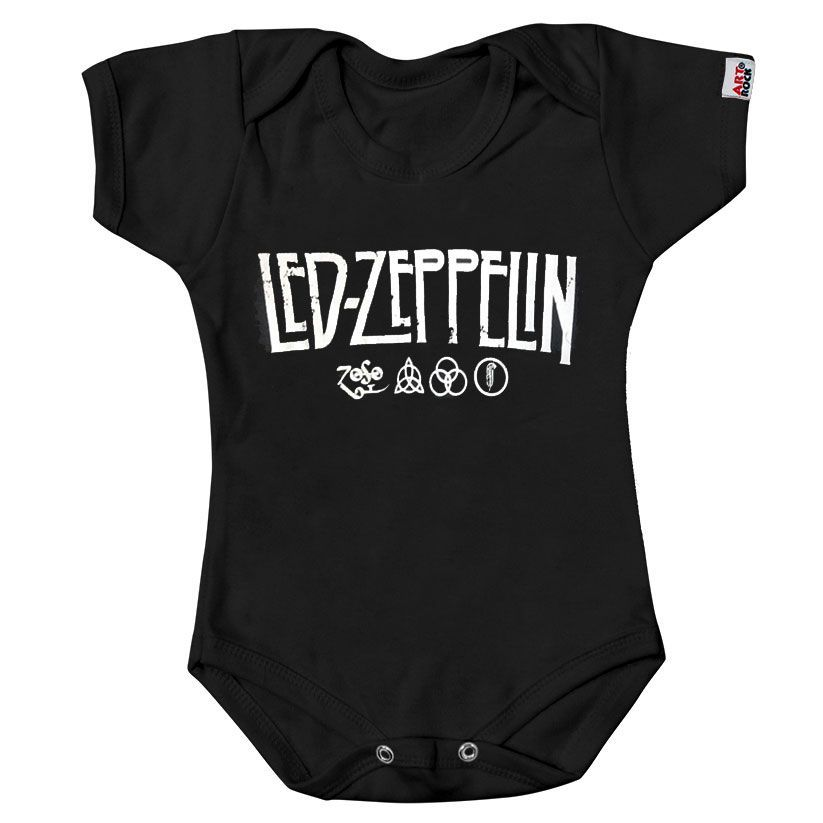 Body Infantil Led Zeppelin - Symbols