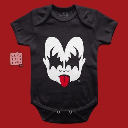 Body Infantil Kiss Menino