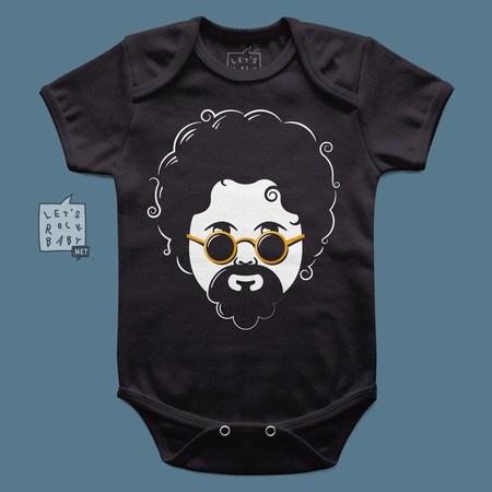 Body Infantil Raul Seixas Baby