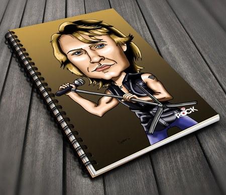 Bon Jovi - Caderno Exclusivo