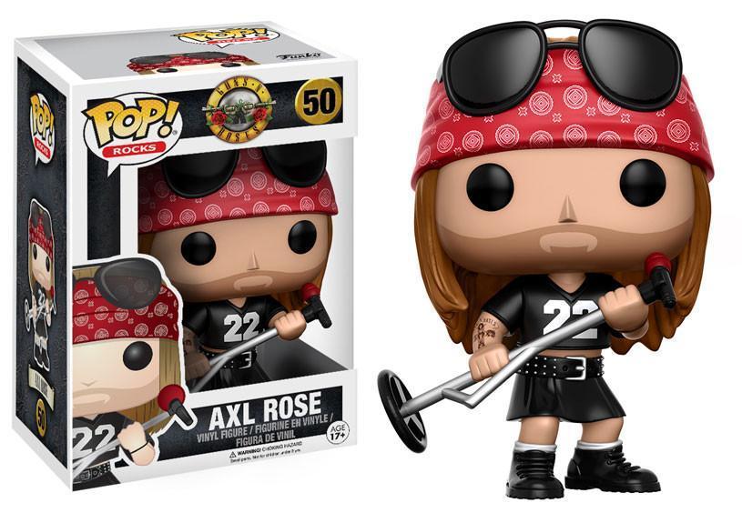 Boneco POP! Funko – Axl Rose