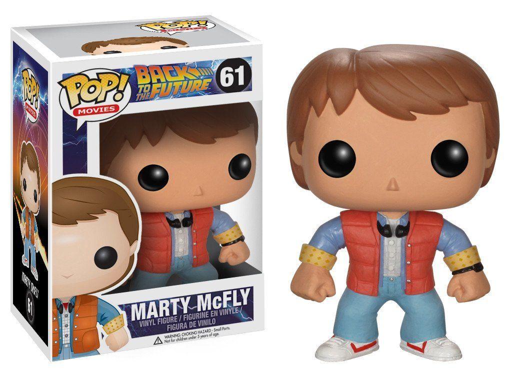 Boneco POP! Funko – Marty McFly