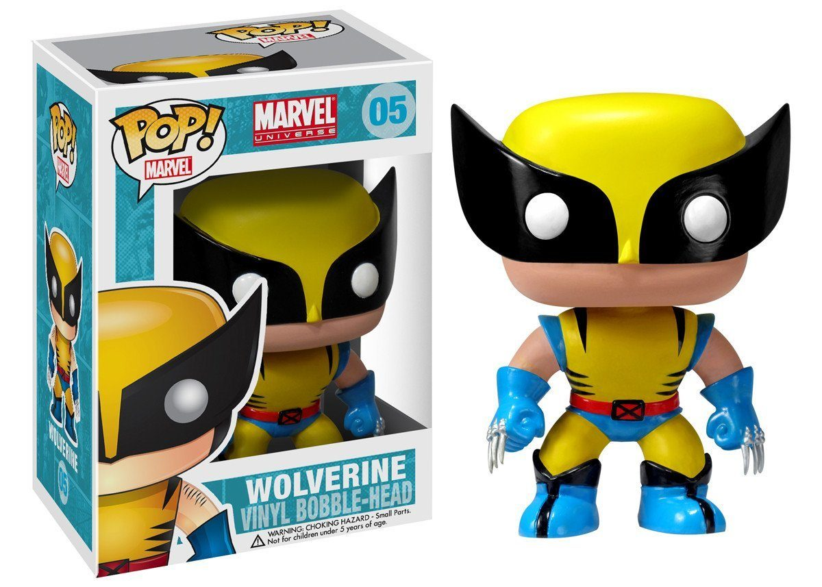 Boneco POP! Funko – Wolverine
