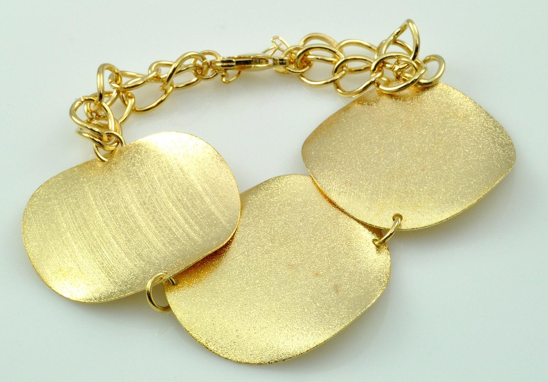 Bracelete Tita Karan Banhada a Ouro 18K
