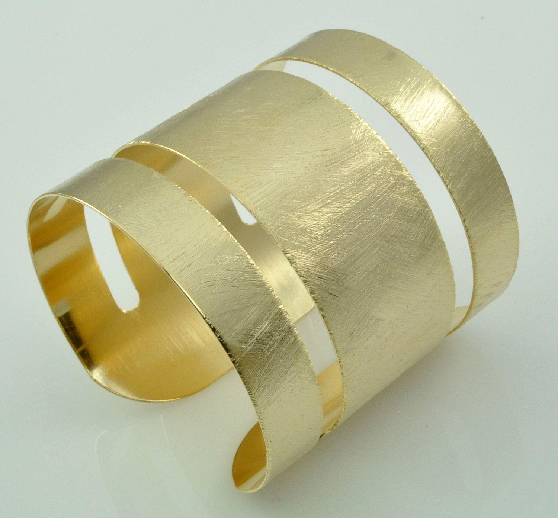 Bracelete Em Banho De Ouro 18K