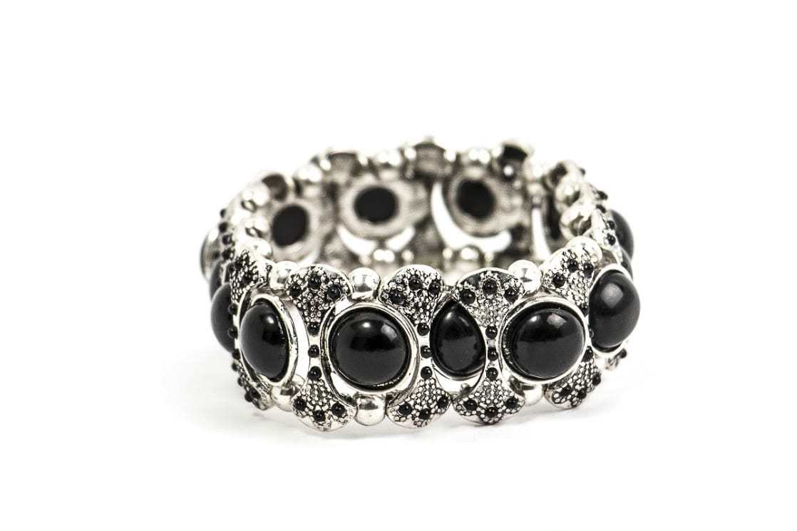 Bracelete Onix Preta Black