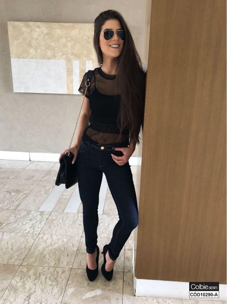 Calça Jeans Skinny Amaciada [10290-A]