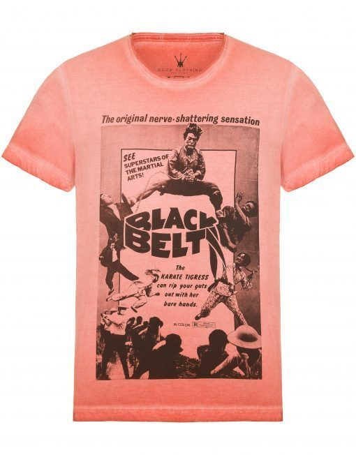 Camiseta Masculina Doca Clothing 100% Algodão Black Belt
