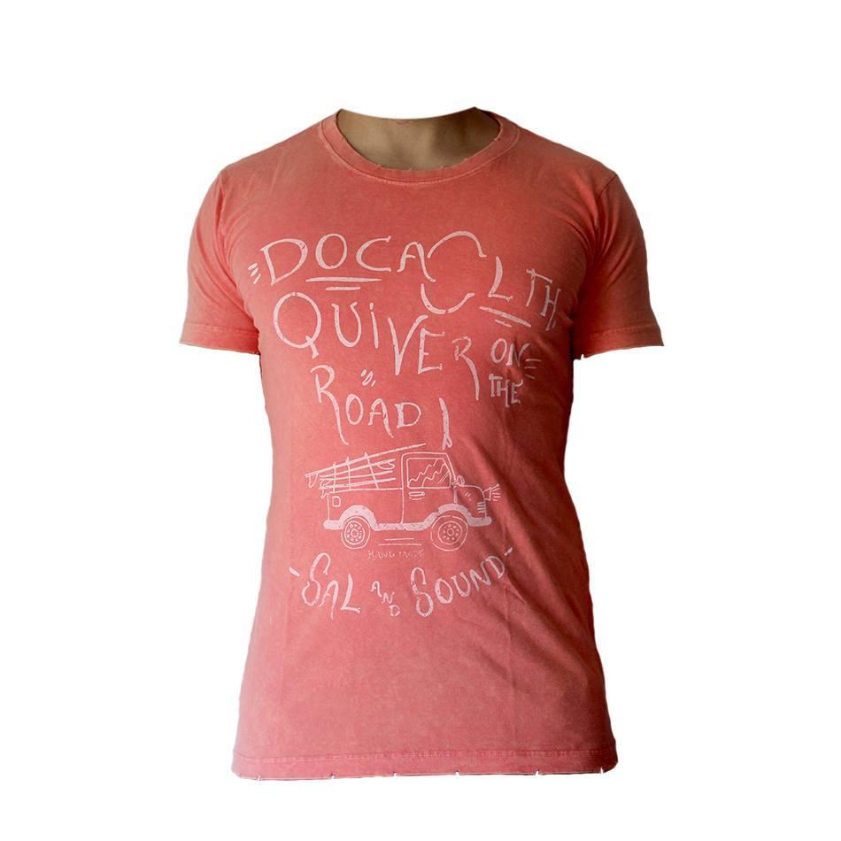 Camiseta Masculina Doca Clothing 100% Algodão Road