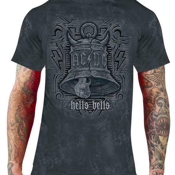 Camiseta AC/DC – Hells Bells