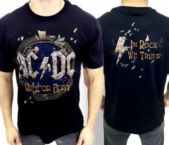 Camiseta - AC/DC - Rock Or Bust