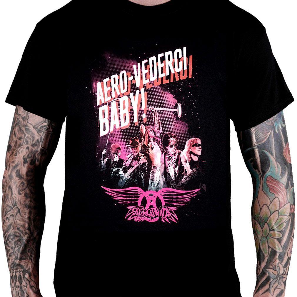 Camiseta Aerosmith - Aero-Vederci Baby