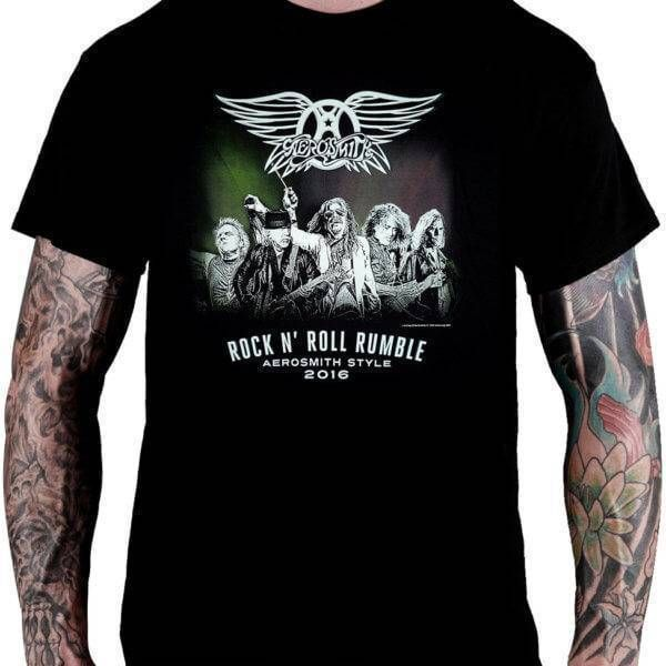 Camiseta Aerosmith – Rock 'n' Roll Rumble