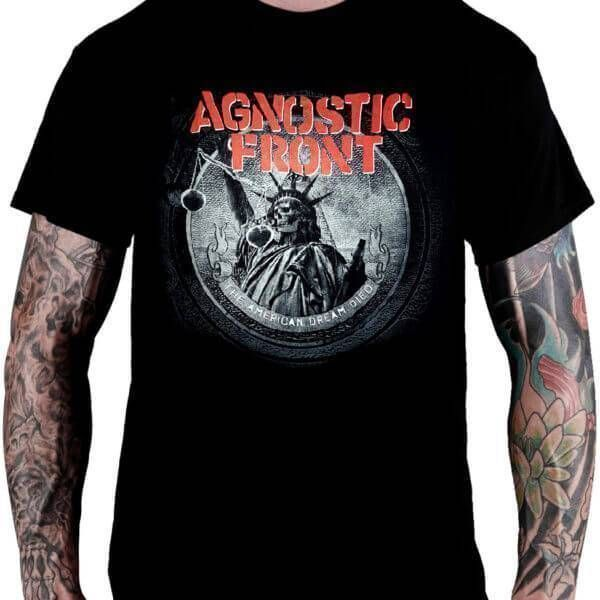 CamisetaAgnostic Front – The American Dream Died
