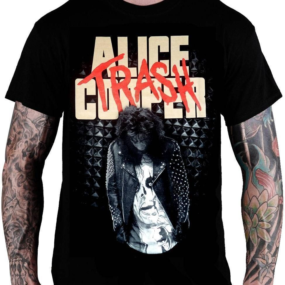 Camiseta Alice Cooper – Trash