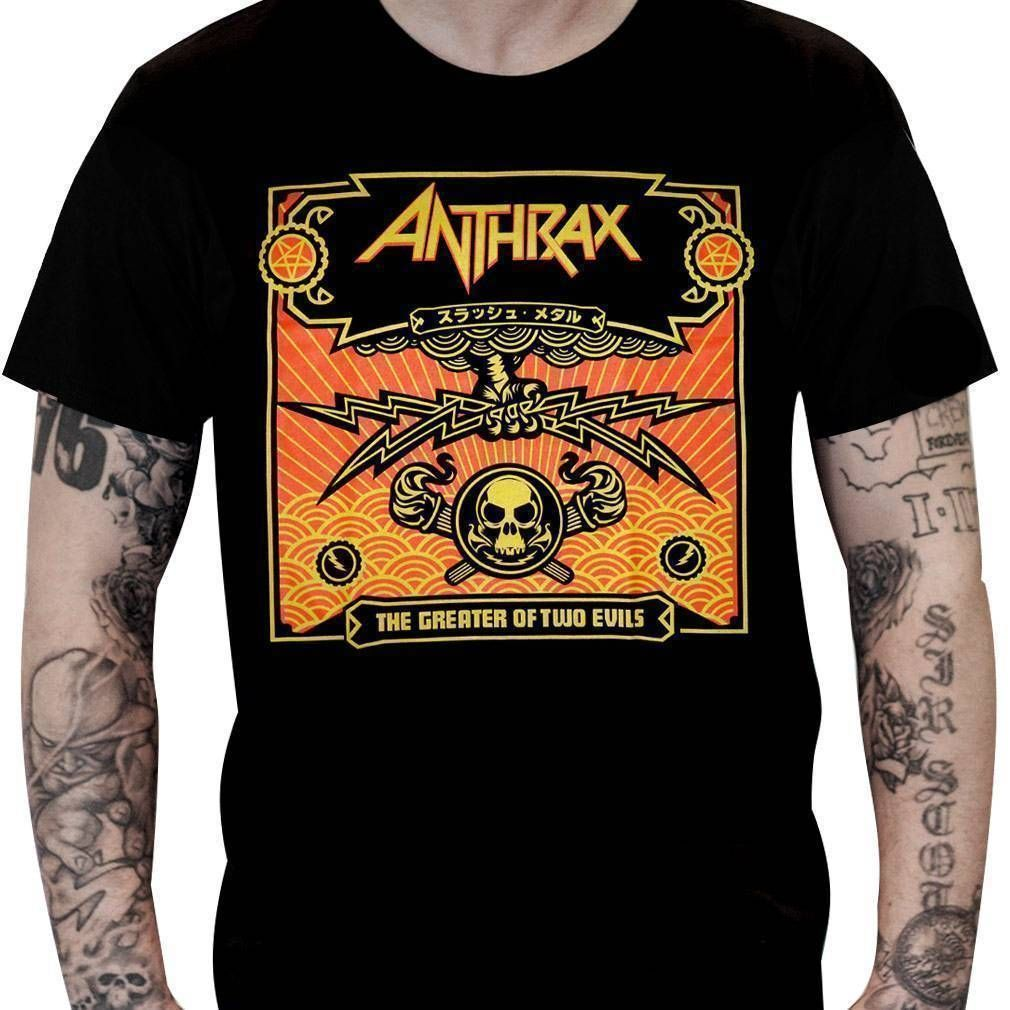 Camiseta Anthrax – The Greater of Two Evils