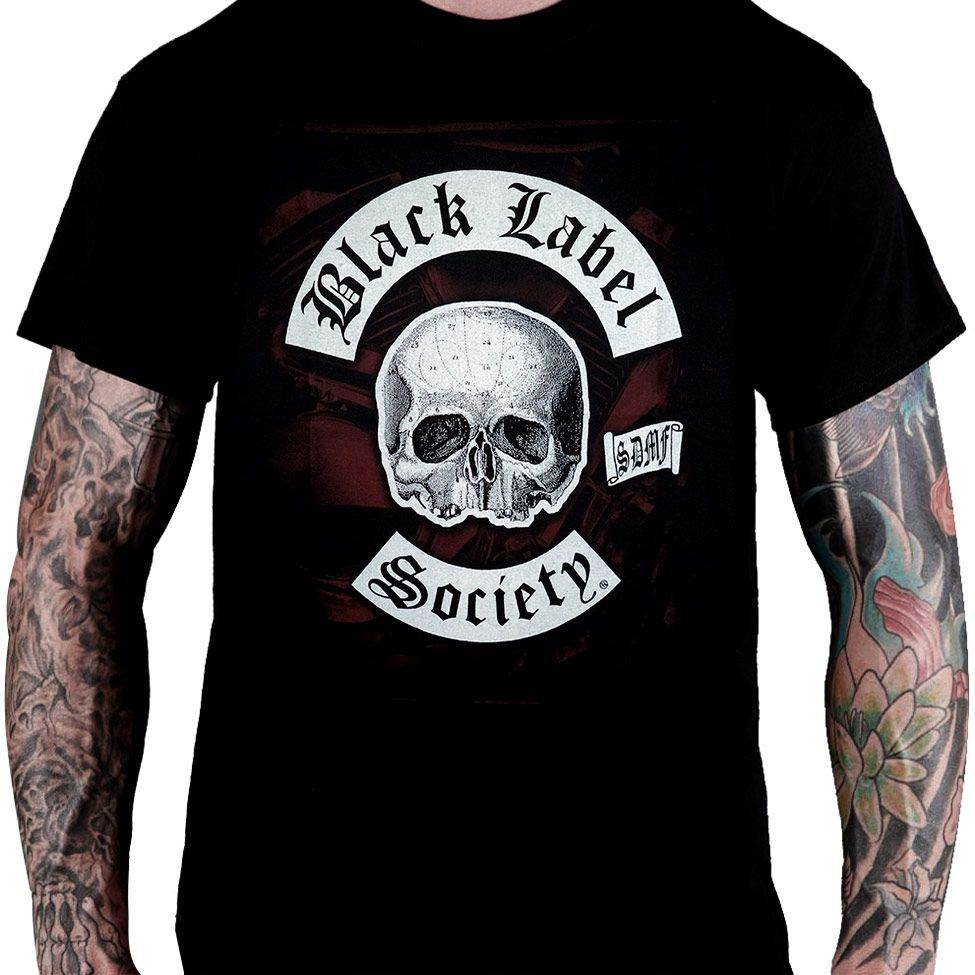 Camiseta Black Label Society - BLS