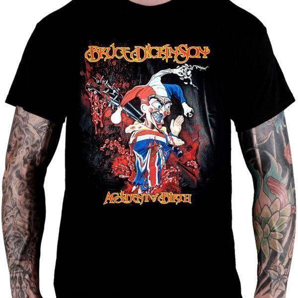 Camiseta Bruce Dickinson – Accident of Birth