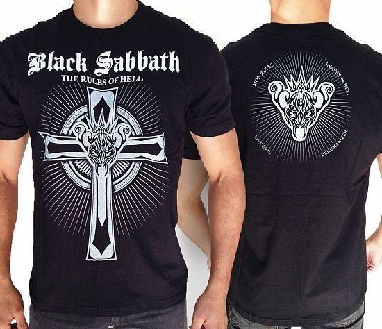 Camiseta - Camiseta Black Sabbath - The Rules of Hell