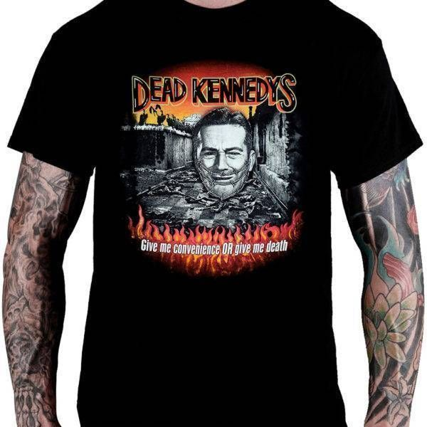 Camiseta DEAD KENNEDYs – Give Me Convenience Or Give Me Death