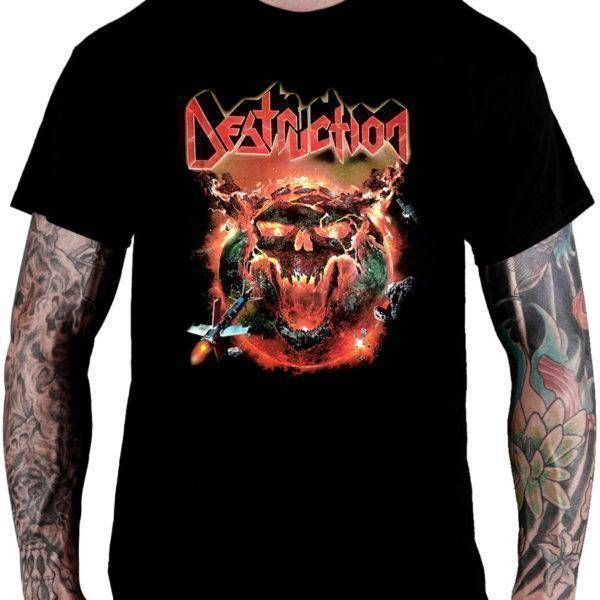 Camiseta Destruction – Under Attack