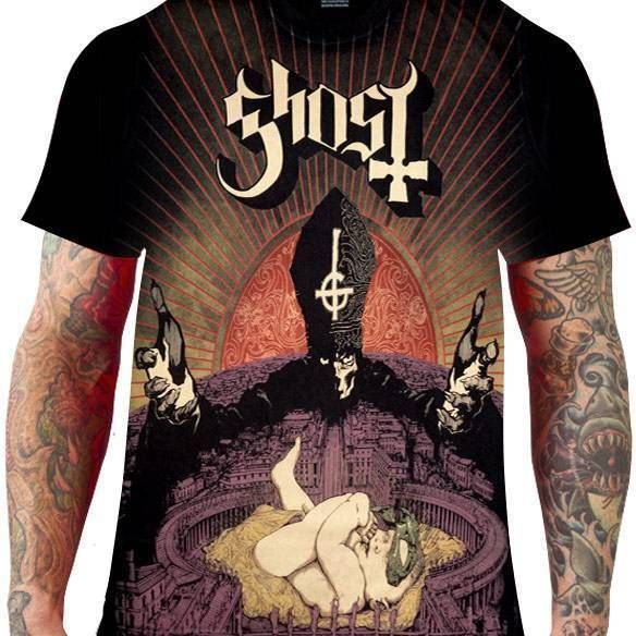 Camiseta Ghost – Infestissumam