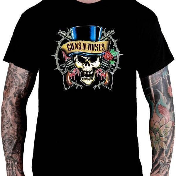 Camiseta Guns n' Roses - Cartola