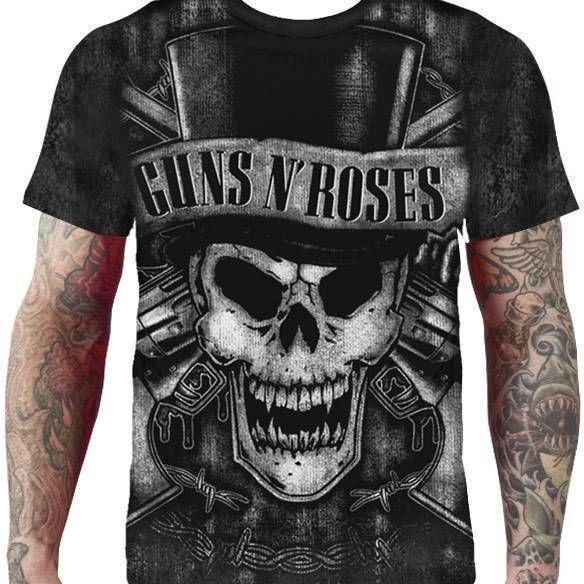 CamisetaGns n' Roses - Full print