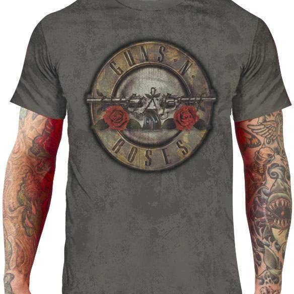 CamisetaGuns n' Roses – logo