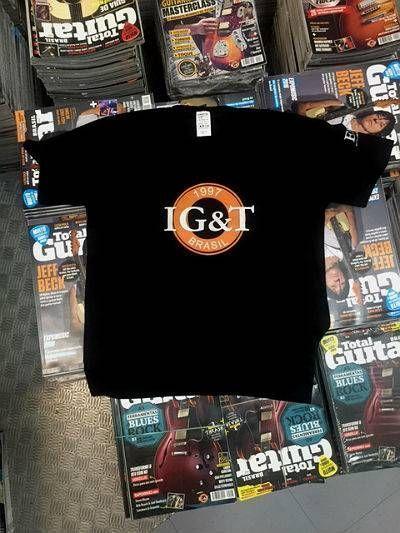 Camiseta IG&T (Instituto de Guitarra e Tecnologia) - Oficial do EM&T