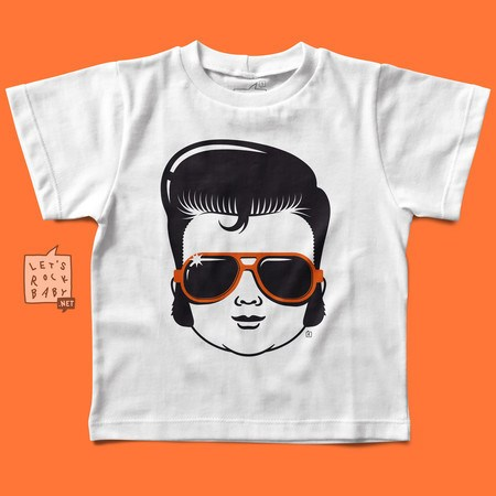 Camiseta Infantil Baby Elvis