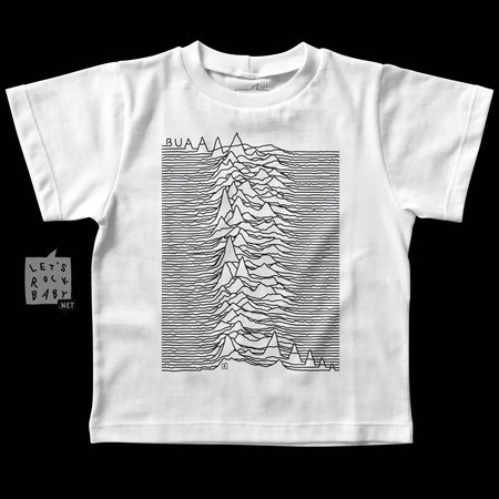 Camiseta Infantil Joy Division Buá