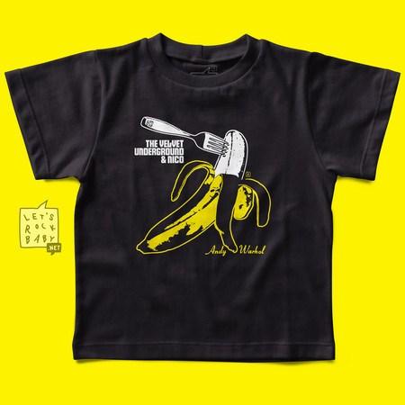 Camiseta Infantil Velvet Underground Banana