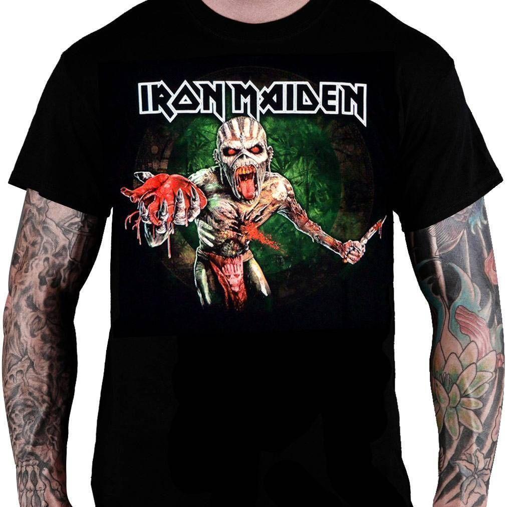 CamisetaIron Maiden - Book of Souls Montagem