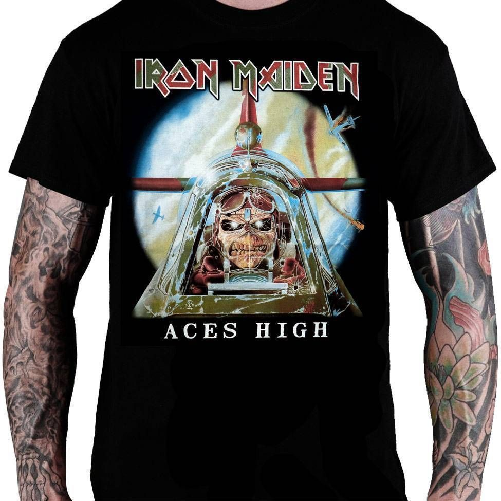 Camiseta Iron Maiden – Aces High