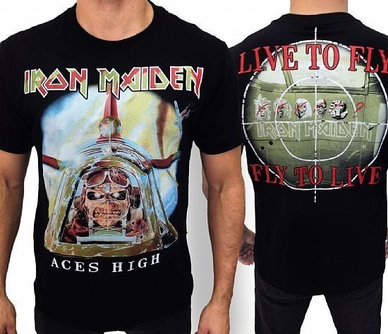 Camiseta - Iron Maiden - Aces High