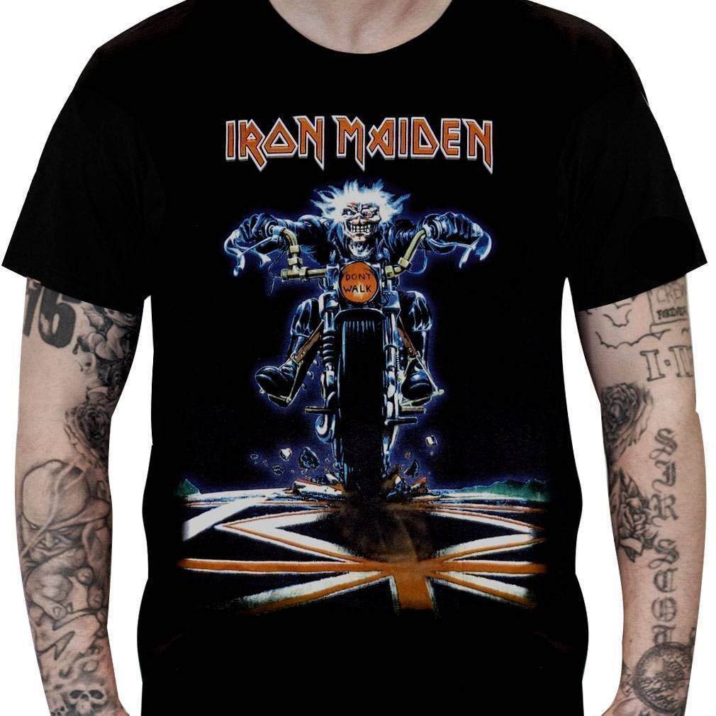 Camiseta Iron Maiden - Don't Walk