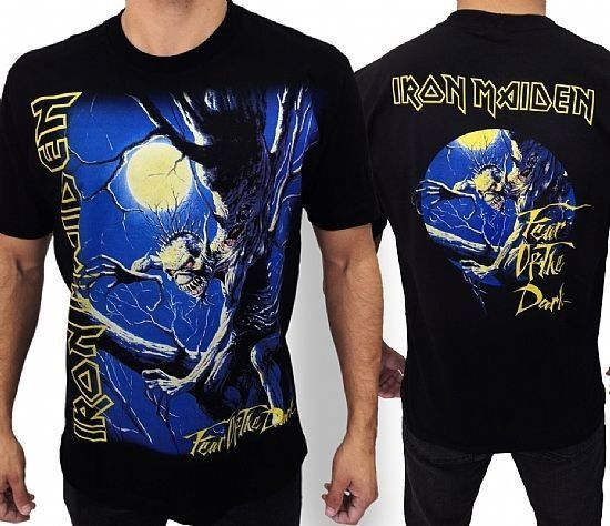 Camiseta - Iron Maiden - Fear Of The Dark