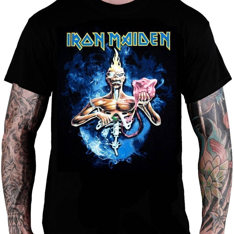 CamisetaIron Maiden –Seventh Son montagem