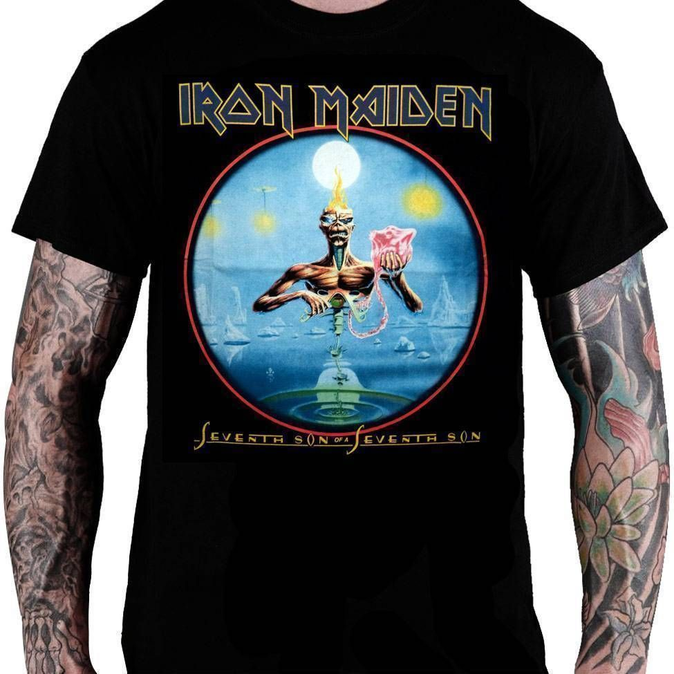 Camiseta Iron Maiden – Seventh Son of a Seventh Son