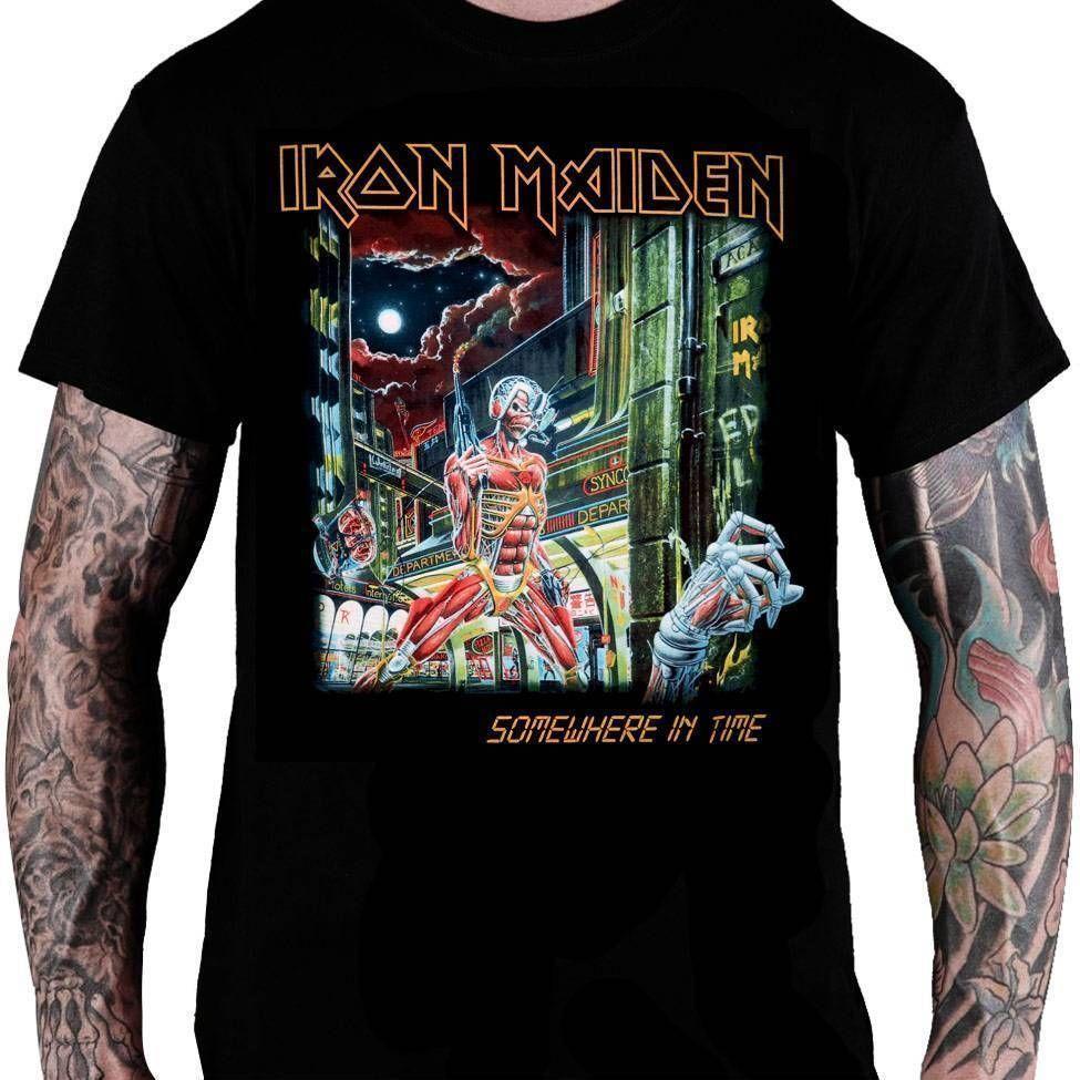 Camiseta Iron Maiden – Somewhere in Time