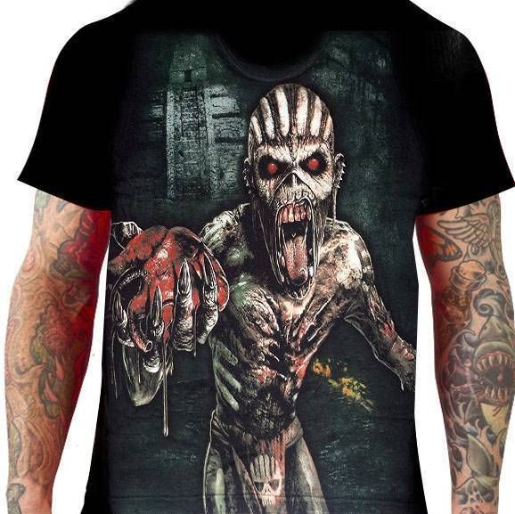 Camiseta Iron Maiden – The Book of Souls